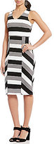Daniel Cremieux Clara V-Neck Stripe Knit Dress