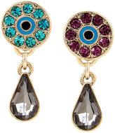 Betsey Johnson Lucky Charms Eye Drop Earrings