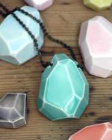 MeMeMe me me me Large Faceted Stone Necklace