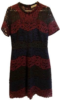 Sandro Burgundy Lace Dresses