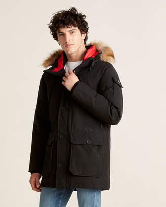 Penfield Real Fur Coyote Hood Down Jacket