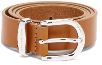 Isabel Marant Zadd Leather Belt - Tan