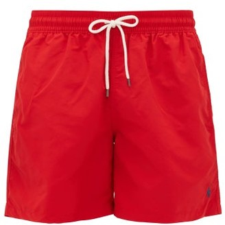 Polo Ralph Lauren Logo-embroidered Swim Shorts - Red
