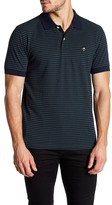 Brooks Brothers Short Sleeve Striped Slim Fit Polo