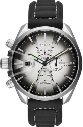 Diesel Men's Chronograph Quartz Watch with Silicone Strap DZ4483
