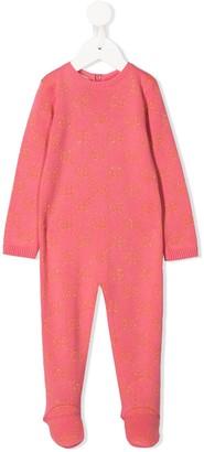 Gucci Kids GG knitted pajamas