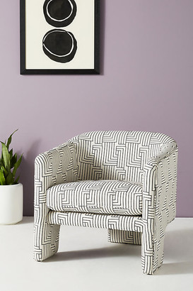 Anthropologie Effie Tripod Chair By in Black Size ALL