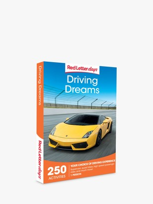 Red Letter Days Driving Dreams Gift Experience