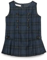 Gucci Baby's Checked Wool Dress