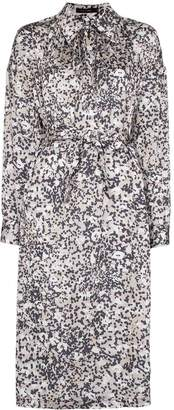 Low Classic printed midi shirt dress