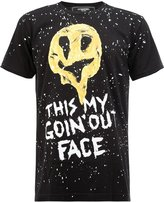 Dom Rebel printed T-shirt - men - Cotton - L