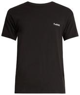 Vetements X Hanes text-print cotton T-shirt