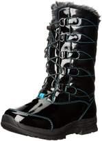 Khombu Girls Daviana Little Kid Patent Snow Boots Black 3 Medium (B,M)