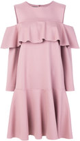 Alberta Ferretti flared peplum dress