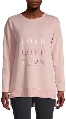 C&C California Graphic High-Low Fleece Sweatshirt