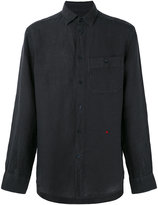Peuterey chest pocket shirt - men - Linen/Flax - S