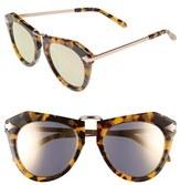 Karen Walker Women's 'One Orbit - Superstars' Mirrored Lens Sunglasses - Crazy Tort With Rose Gold