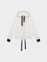 DKNY Pure Hooded Jacket With Drawcords