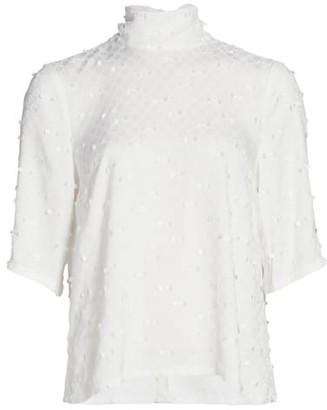 Rachel Comey Lada Embroidered Top