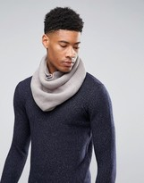 Asos Infinity scarf In Gray