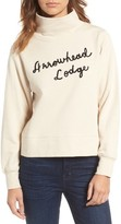 Madewell Women's Arrowhead Lodge Funnel Neck Sweatshirt