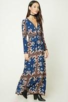 Forever 21 FOREVER 21+ Floral Print Maxi Dress