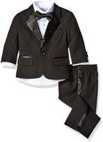 Nautica Baby Tuxedo Suit Set with Bow Tie