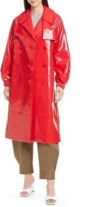 Tibi Shiny Trench Coat