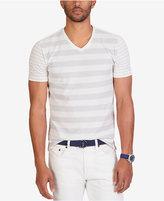 Nautica Men's Slim Fit Stripe V-Neck T-Shirt
