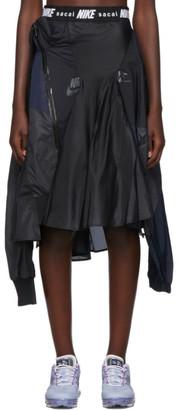 Nike Black and Navy Sacai Edition W NRG Ga NI-03 Skirt