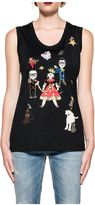 Dolce & Gabbana Black Family Tank Top