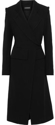 Ann Demeulemeester Double-breasted Wool And Cotton-blend Twill Coat