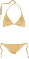 Melissa Odabash Monte Carlo metallic triangle bikini