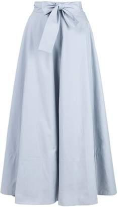 Co bow tie waist skirt