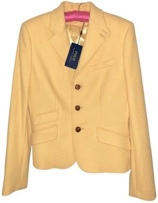 Polo Ralph Lauren Yellow Wool Jackets