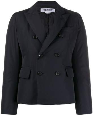 Comme des Garcons double buttoned padded blazer