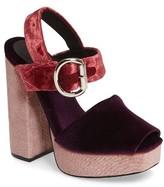 Jeffrey Campbell Women's Mitra Platform Sandal