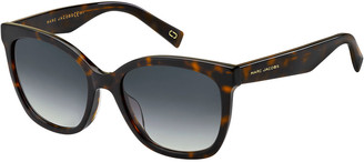 Marc Jacobs Round Mirrored Acetate Sunglasses