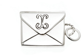 Love Letters Sterling Silver Petite Envelope Charm by Cynthia Gale
