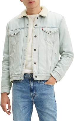 Levi's Type 3 Faux Shearling Denim Trucker Jacket