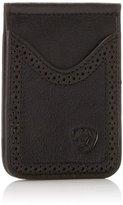 Ariat Men's Boot Vent Money-Clip Black Card Case