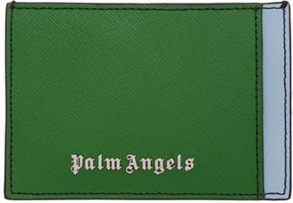 Palm Angels Multicolor Colorblock Card Holder