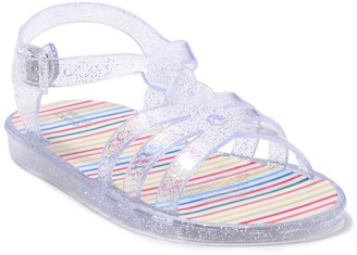 Harper Canyon Open Toe Jelly Sandal (Baby Girls 5-10M)