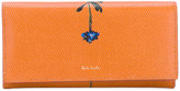 Paul Smith flower print continental wallet - women - Calf Leather - One Size