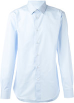 Brioni plain shirt - men - Cotton - 42