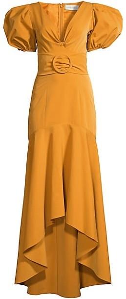 Sachin + Babi Layla Puff-Sleeve Dress