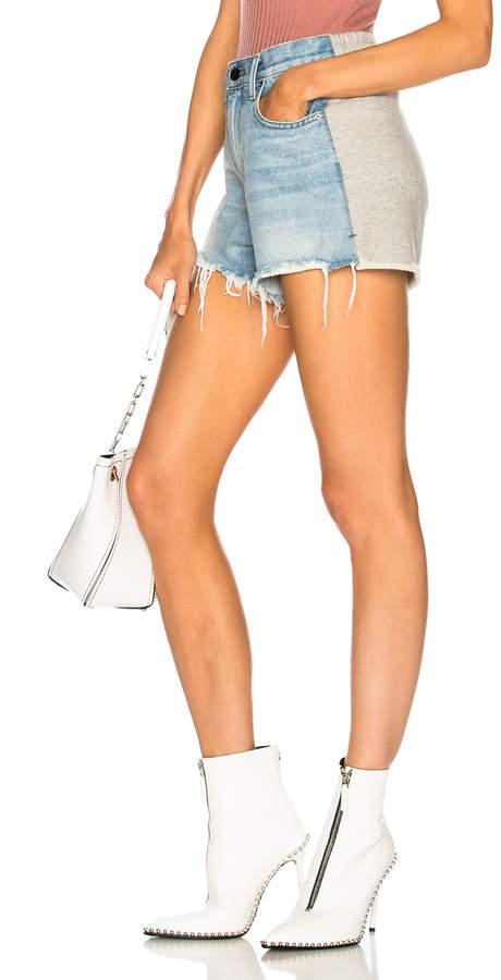 Alexander Wang Hybrid Bite Shorts