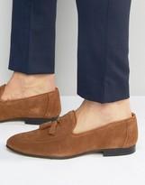 WALK LONDON Walk London Islington Suede Tassel Loafers