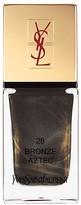 Yves Saint Laurent La Laque Couture in N 28 Bronze Aztec
