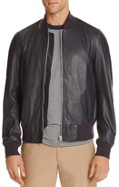 Paul Smith Leather Bomber Jacket